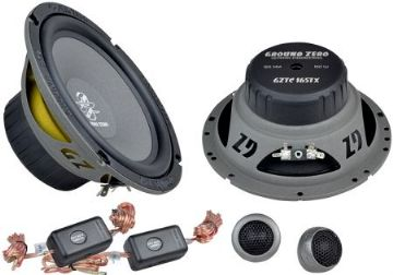 "16,5 cm / 6.5"" 2 Way compo - 110 W RMS - 25 mm / 1"" Tw"